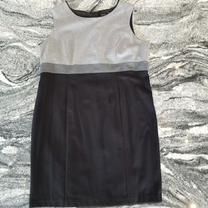Laura Day Dress in Black and Grey Size 20